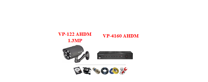Camera Vantech AHDM 1.3mp (Trọn bộ 1 camera)